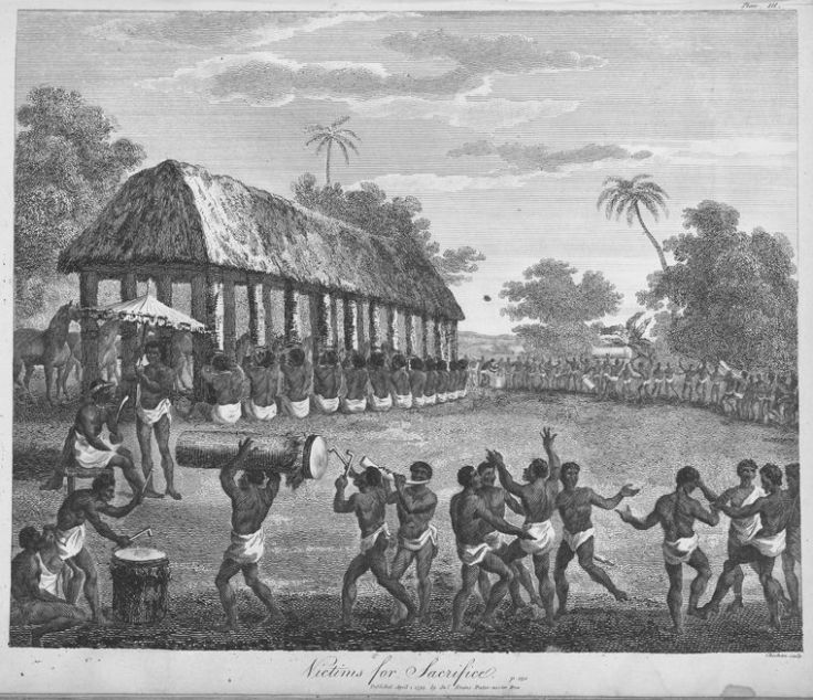 Victims_for_sacrifice in Dahomey-1793