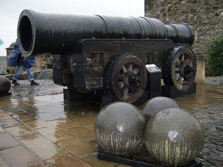 English cannon