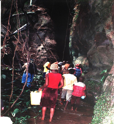 Ibinukpabi cave or long tunnel, now a tourist site source oldnaija.com