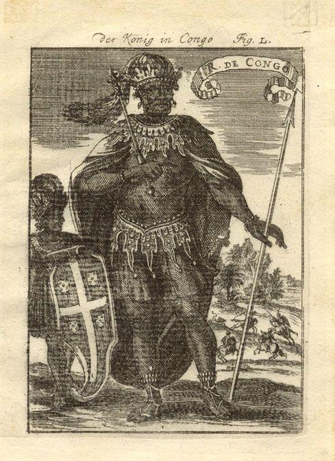 King Afonso of Kongo