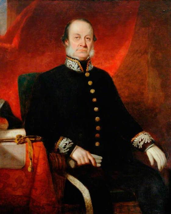 unknown artist; Governor John Beecroft (1790-1854), Spanish Governor of the Island of Fernando Po and Her Majesty's Consul for the Bight of Biafra