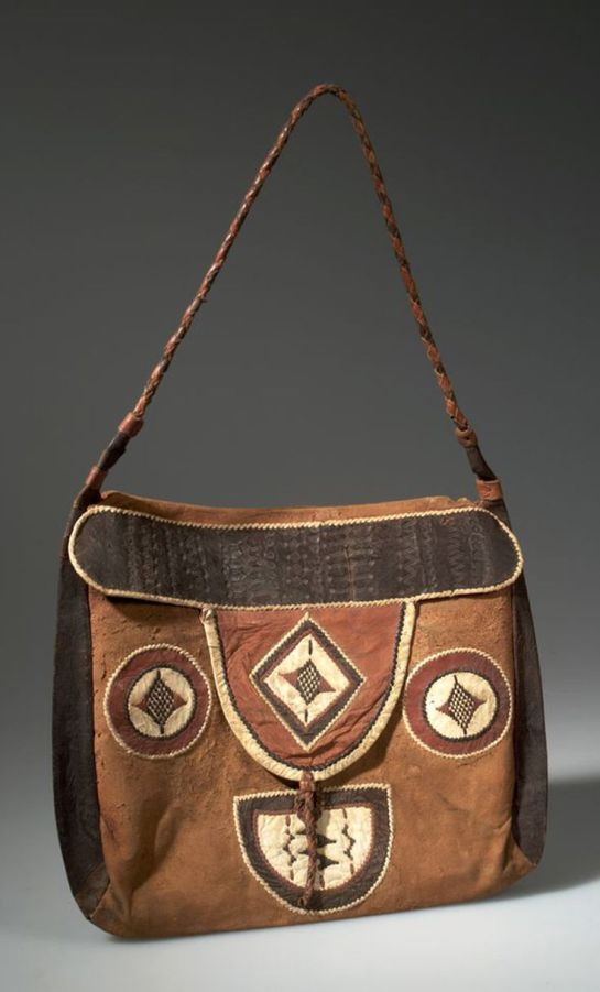 Bag made by Hausa people
