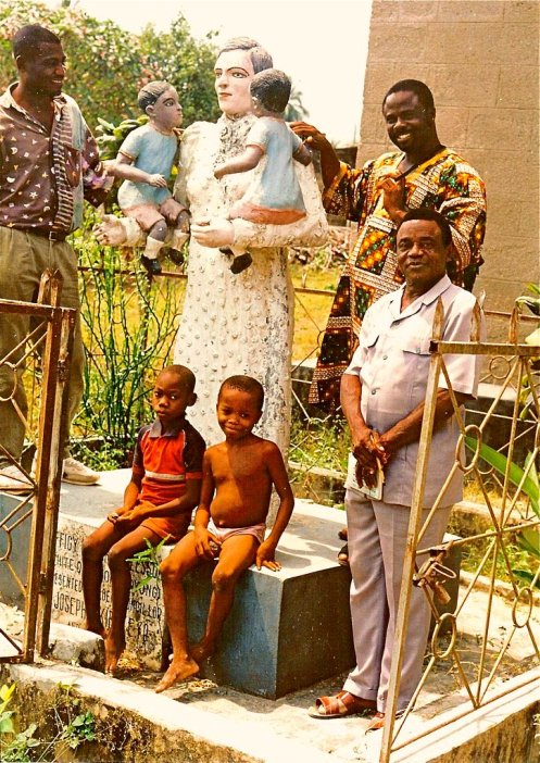 Mary Slessor statue in Calabar