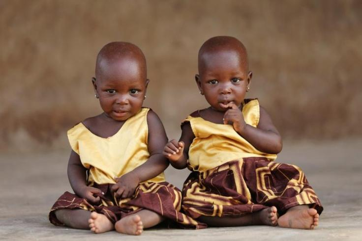 Twins in Igbo Ora
