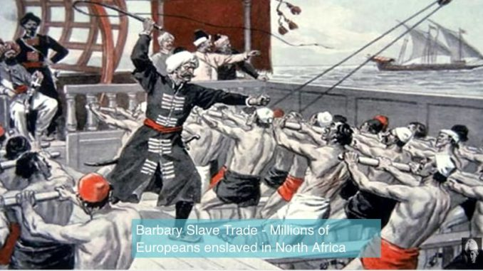 White Barbary Coast galley slaves